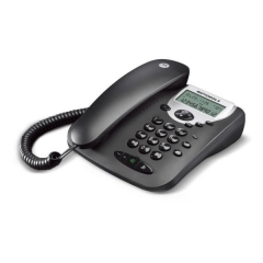 Motorola CT2 Μαύρο Ενσύρματο τηλέφωνο με οθόνη
