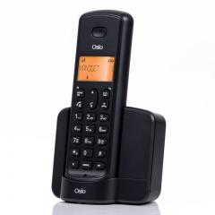 Osio OSD-8910B Μαύρο (Ελληνικό Μενού) Ασύρματο τηλέφωνο με ανοιχτή ακρόαση και 50 μνήμες τηλεφωνικού καταλόγου