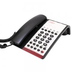 Osio OSWH-4800B Τηλέφωνο ξενοδοχειακού τύπου με 10 μνήμες, ανοιχτή ακρόαση, LED και SOS
