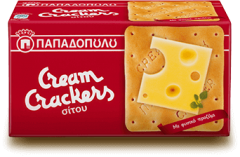 CREAM CRACKERS ΚΟΚΚΙΝΟ 140ΓΡ