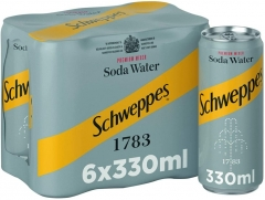 SCHWEPPES ΣΟΔΑ 330ML