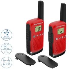 Motorola TALKABOUT T42 Walkie Talkie Κόκκινο 4 km