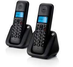 Motorola T302 (Ελληνικό Μενού) Διπλό ασύρματο τηλέφωνο με ανοιχτή ακρόαση