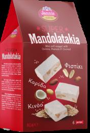SUPER MANTOLATAKIA ΚΙΝΟΑ ΦΙΣΤΙΚΙΑ ΚΑΡΥΔΑ 80g