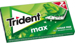 TRIDENT MAX ΔΥΟΣΜΟΣ 12ΤΜ (1€)