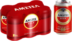 AMSTEL ΜΠΥΡΑ ΚΟΥΤΙ 330ML