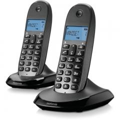 Motorola T311 (Ελληνικό Μενού) Ασύρματο τηλέφωνο με τηλεφωνητήMotorola C1002LB (Ελληνικό Μενού) Διπλό ασύρματο τηλέφωνο