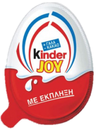 KINDER JOY ΑΥΓΟ ΕΚΠΛΗΞΗ 20ΓΡ